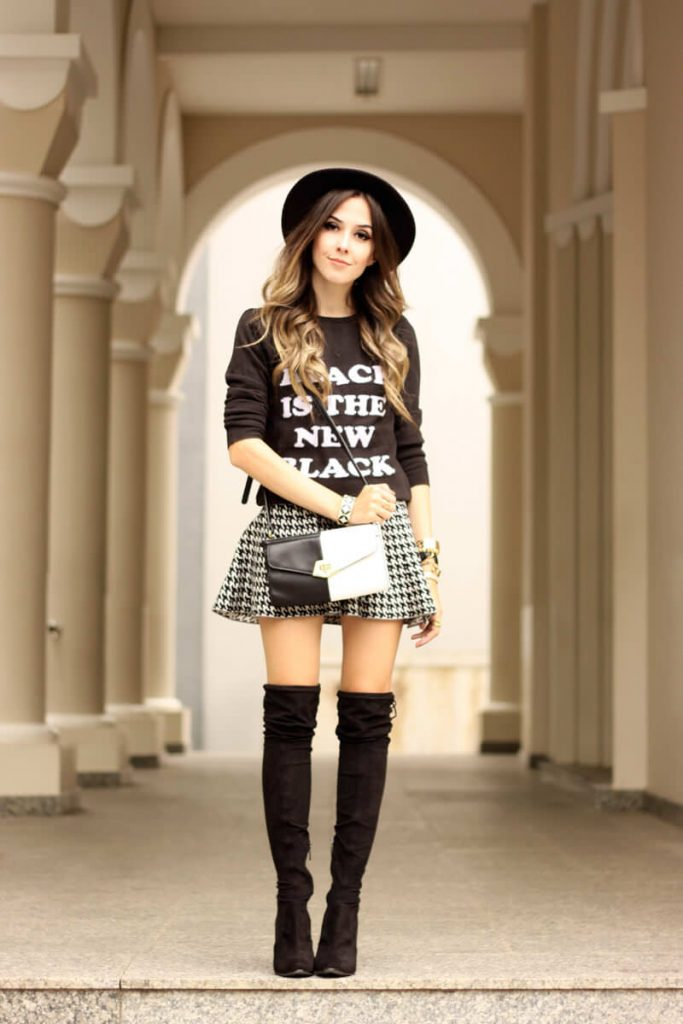 FashionCoolture-28.03.2016-look-du-jour-black-and-white-over-knee-boots-outfit-winter-1